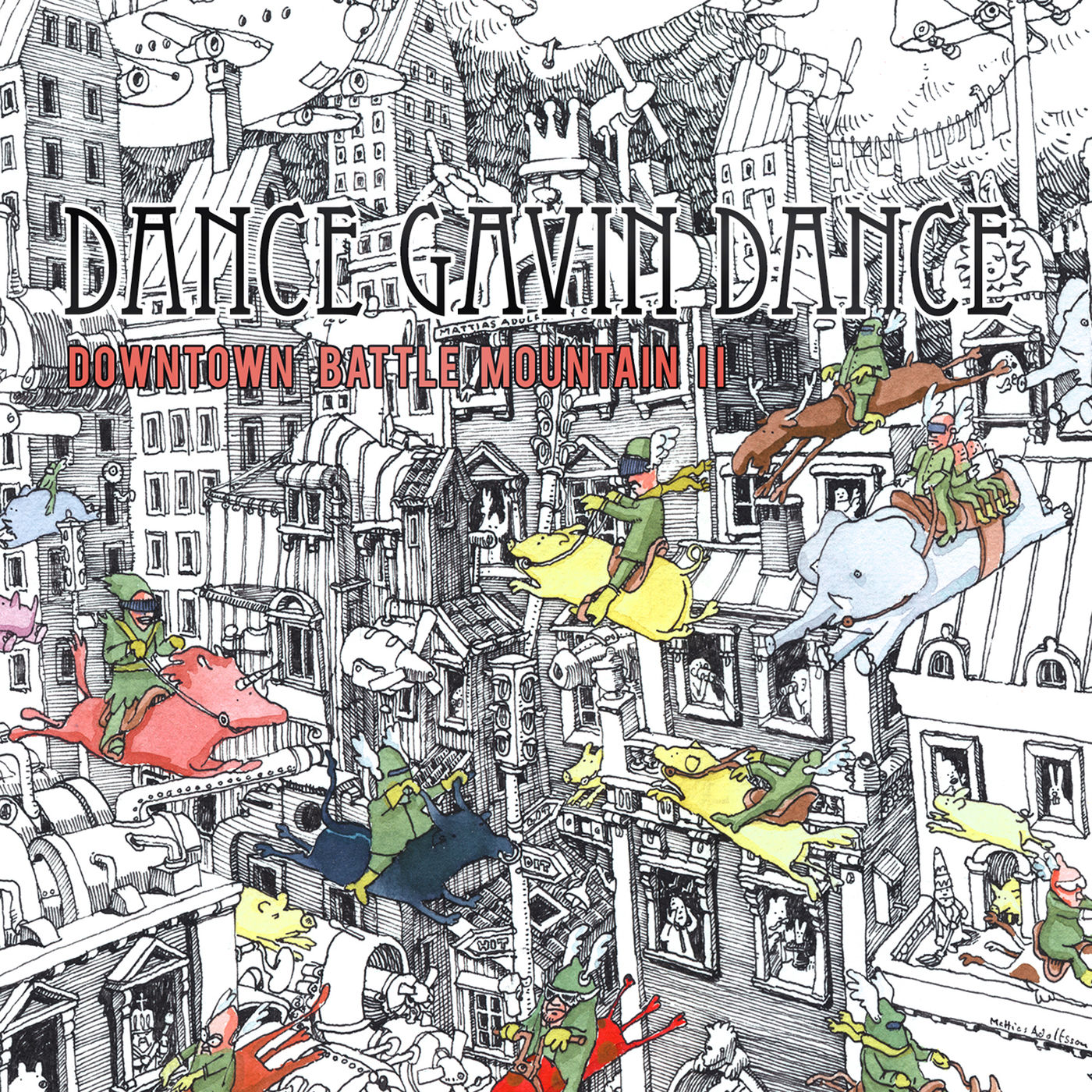 Dance Gavin Dance - Downtown Battle Mountain ll (Instrumental) (2019)