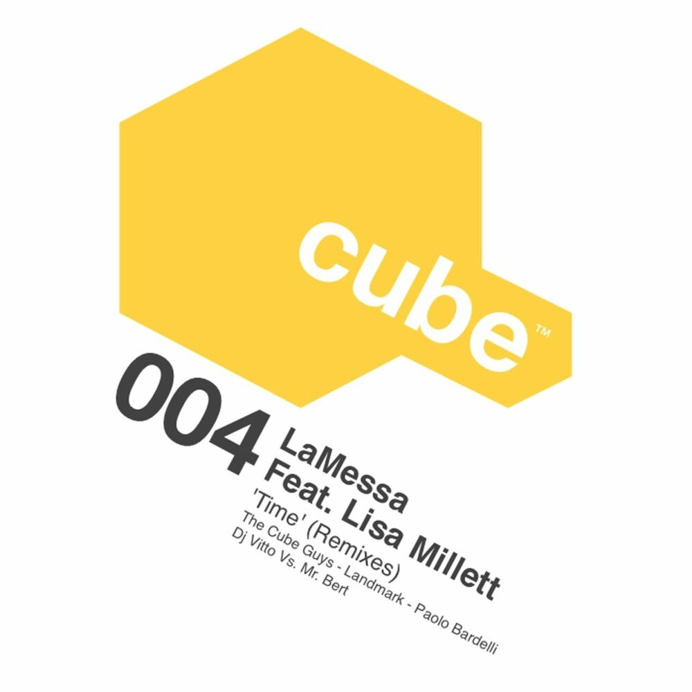 Time (feat. Lisa Millett) (The Cube Guys Mix)