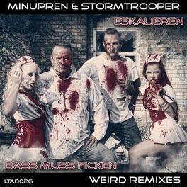 Album cover of Eskalieren / Bass muss ficken (Weird Remixes)