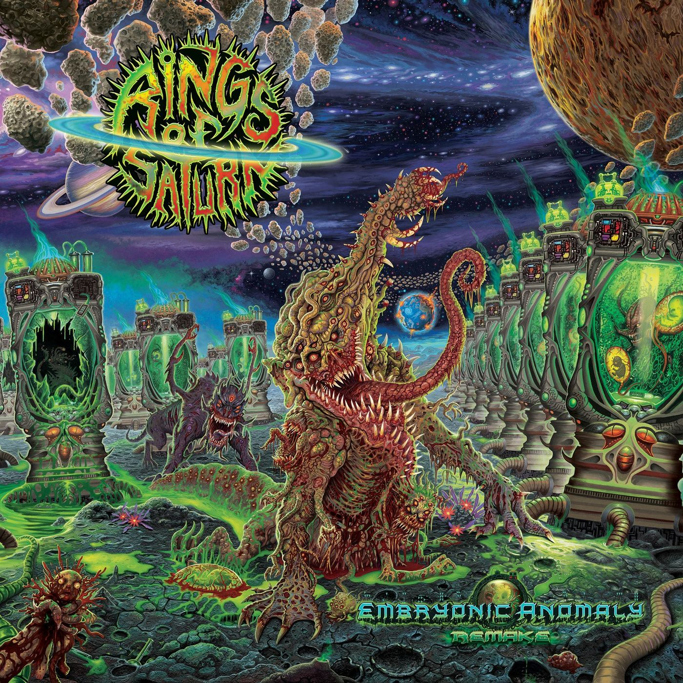 Rings of Saturn - Embryonic Anomaly Remake (2021)