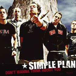 Simple Plan – Don\'t Wanna Think About You CD Completo
