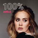 100%  Adele