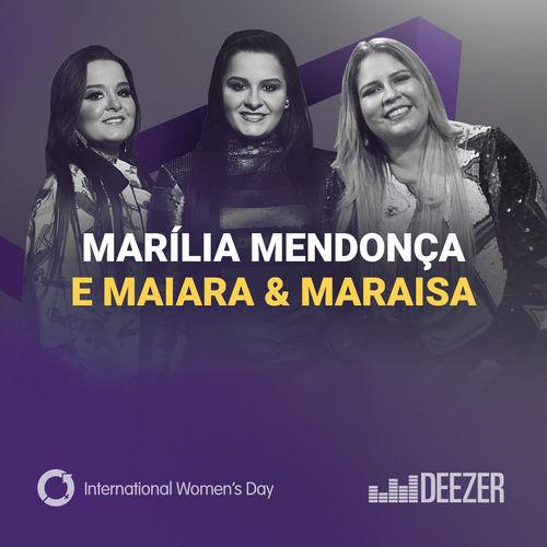 CD Mulheres por Marília Mendonça e Maiara & Maraisa