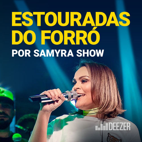 Baixar CD Estouradas do Forró por Samyra Show Grátis