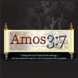 Show cover of Amos 3:7  A Love of The Truth