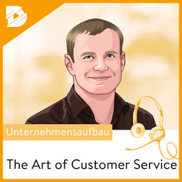 Show cover of The Art of Customer Service // by digital kompakt